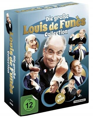 Die große Louis de Funes Collection DVD 16 Filme