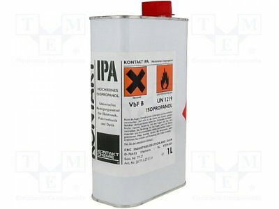 IPA-1L - 1pcs Isopropyl alcohol; colourless; cleaning; liquid; 1000ml; can