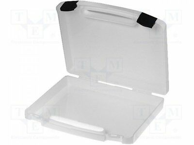 K2001-WHITE - 1pcs Container: transportation case; 240x170x42mm; white; pl...