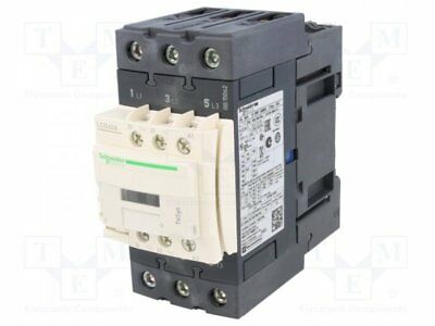 LC1D40AB7 - 1pcs Contactor:3-pole; Auxiliary contacts: NO + NC; 24VAC; 40A...