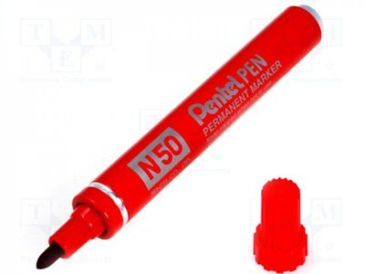 PENT-N50R - 1pcs Marker: permanent marker; red; 1.5mm; N 50
