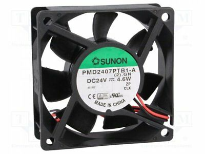 PMD2407PTB1A - 1pcs Fan: DC; axial; 24VDC; 70x70x25mm; 83.25m3/h; 45dBA; b...