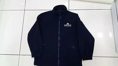 Uneek UC604 Mens Adult Classic Full Zip Micro Fleece Coat Jacket Size L navy blu
