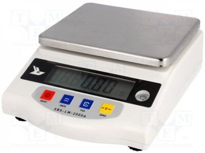 SBS-LW-2000A - 1pcs Device: scales; precision-counting; Scale max.load:2kg...