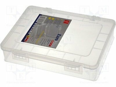 W-457170 - 1pcs Container: box; 180x149x40mm; white; polypropylene
