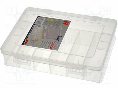 W-457180 - 1pcs Container: compartment box; 180x149x40mm; white; polypropy...