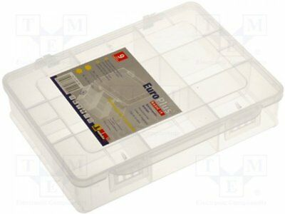 W-457190 - 1pcs Container: compartment box; 180x149x40mm; white; polypropy...