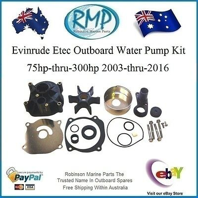 Aftermarket Water Pump Kit Suits Evinrude Etec 75hp-thru-300hp # R 5001595