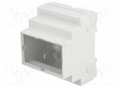 Z-108JFP-ABS-V0 - 1pcs Enclosure: for DIN rail mounting; Y:90mm; X:70mm; Z...