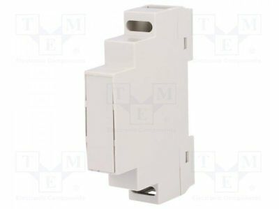 Z-105 - 1pcs Enclosure: for DIN rail mounting; Y:90mm; X:17mm; Z:65mm; ABS