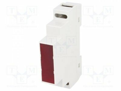 Z-105F - 1pcs Enclosure: for DIN rail mounting; Y:90mm; X:17mm; Z:65mm; ABS