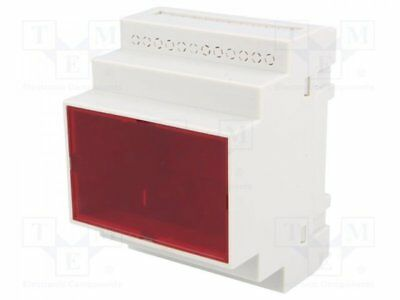 Z-108F-PS - 1pcs Enclosure: for DIN rail mounting; Y:90mm; X:70mm; Z:65mm;...