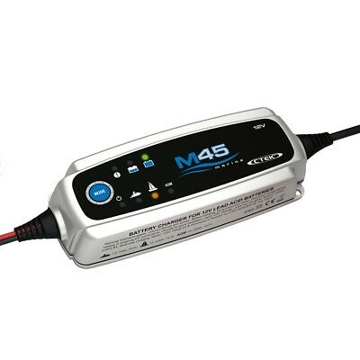 CTEK M45 Marine Battery Charger 7Ah up to 75Ah 5 Year Warranty
