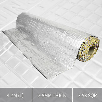 Extra Thick Butyl Sound Proofing Vibration Deadening Roll Mat for Car / Van