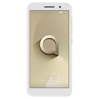 "Alcatel 1 Gold SmartPhone 5"" Android Quad-Core 8GB 1GB 5MP Unlocked SIM Free"