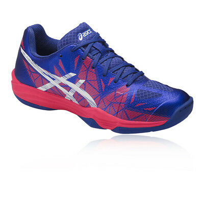 Asics Womens Gel-Fastball 3 Indoor Court Shoes Blue Sports Handball Netball