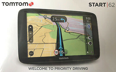 Tomtom Start 62 EU 6 Zoll 15cm Display Navigationsgerät Navigationssystem Neu