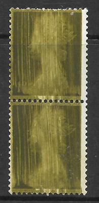 Sg 724 1d Pre-decimal Machin with incredible Ink Flaw - UNMOUNTED MINT/MNH