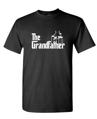 THE GRANDFATHER - Funny Father's Day Spoof - Unisex Cotton T-Shirt Tee Shirt