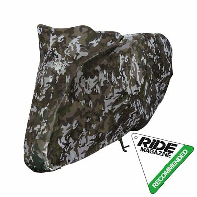 *NEW* Oxford AQUATEX Outdoor Waterproof Motorcycle Cover (Camo) EX-LARGE / XL