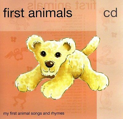 FIRST ANIMALS NEW SEALED Childrens CD Babies & Toddlers of all ages can benefit