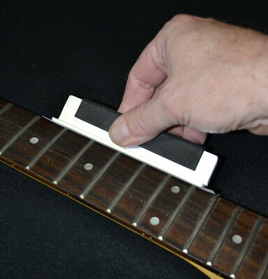 Fret End Sanding Beam -USA Made - No More Cutting Your Fingers on Sharp Frets!