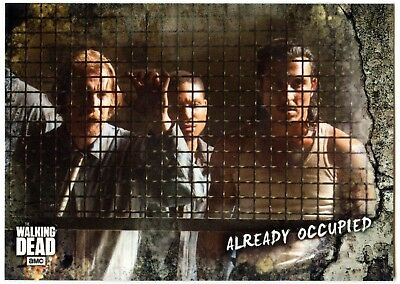 Already Occupied #34 Walking Dead Road To Alexandria 2018 Topps Trade Card C2102