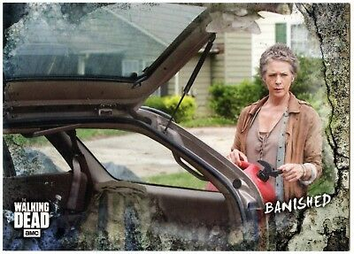 Banished #47 Walking Dead Road To Alexandria 2018 Topps Trade Card (C2102)