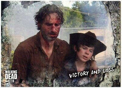 Victory & Loss #54 Walking Dead Road To Alexandria 2018 Topps Trade Card (C2102)