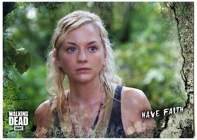 Have Faith #55 Walking Dead Road To Alexandria 2018 Topps Trade Card (C2102)