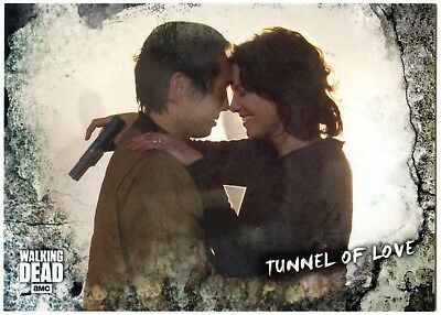 Tunnel Of Love #65 Walking Dead Road To Alexandria 2018 Topps Trade Card (C2102)