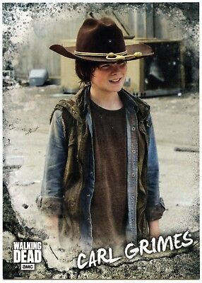 Carl Grimes #C-3 Walking Dead Road To Alexandria 2018 Character Topps Card C2105