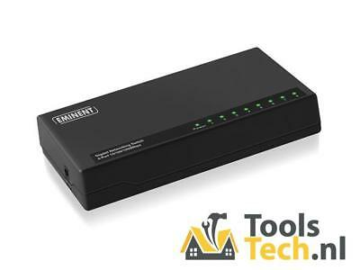 8-Poorts Gigabit-Netwerk-Switch