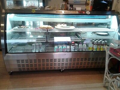 Stainless Steel Refrigerated Deli Case