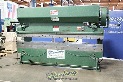 90 Ton x 12' Used Chicago CNC Mechical Press Brake 1012L A4659