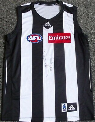 Collingwood Magpies  Dane Swan  Hand Signed Jumper