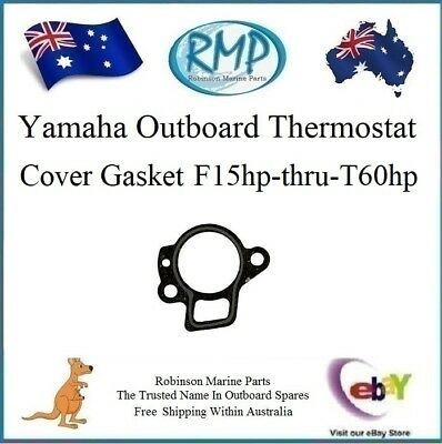 1 x New Thermostat Cover Gasket Yamaha F15hp-thru-T60hp # R 6H3-12414-A1
