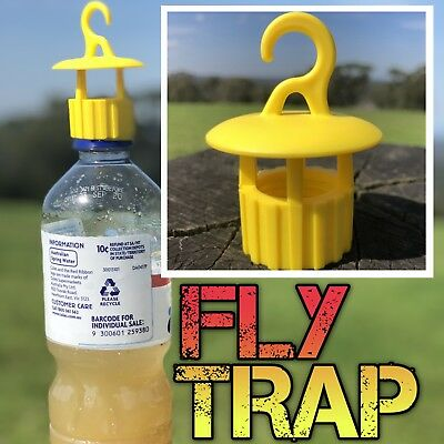 5 x Fly Wasp trap attachment for empty bottle