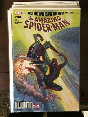 AMAZING SPIDER-MAN #798 NM+ 1st Print ALEX ROSS COVER 1st  Red Goblin Carnage