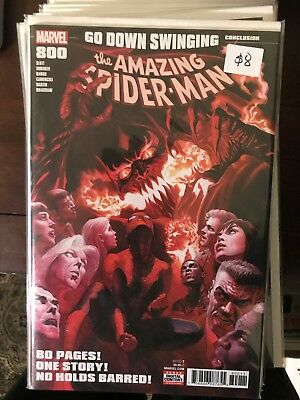 AMAZING SPIDER-MAN #800 NM 1st Print ALEX ROSS COVER Red Goblin Carnage