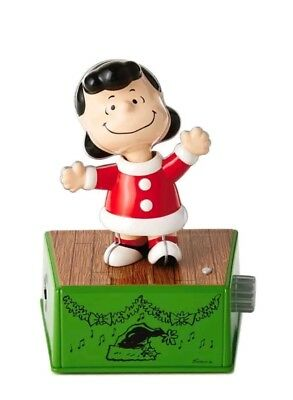 Hallmark 2017 Peanuts Lucy Christmas Dance Party Figure with Music & Motion