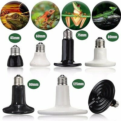Infrared Ceramic Emitter Heat Light Lamp Bulb For Reptile Pets Brooder 220V/110V