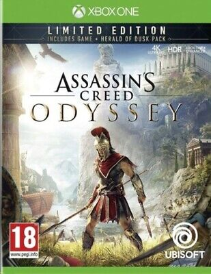 Assassin's Creed: Odyssey: Limited Edition (Xbox One) PEGI 18+ Adventure: Free