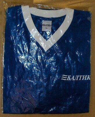 T-Shirt with V-Neck logo of Russian beer company Baltika brend-new XL size