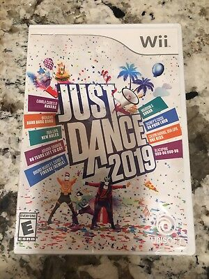 Just Dance 2019 Nintendo Wii Brand New Factory Sealed