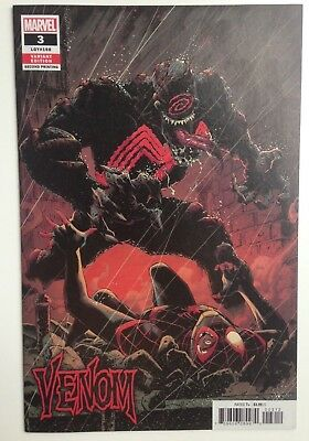 VENOM 2018 #3 Ryan Stegman 2nd print -  Variant 1st FIRST Knull Symbiote God NM