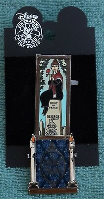 Disneyland HAUNTED MANSION HEADSTONE STRETCHING PORTRAIT LE Pin - Disney Pins