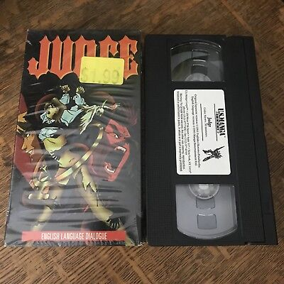 JUDGE (1991) VHS 1996 thriller HORROR anime MANGA japanime ADULT CONTENT occult
