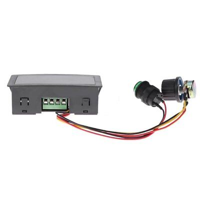 DC6-30V 12V 24V Max 8A Motor PWM Speed Controller With Digital Display Switch