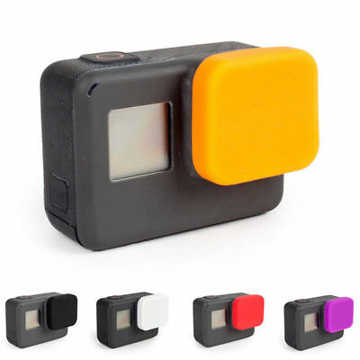 Black For Gopro Hero 7 6 5 Gopro Accessories Silicone Lens Protective Cover Caps